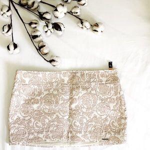 Abercrombie & Fitch mini skirt metal decor w 27